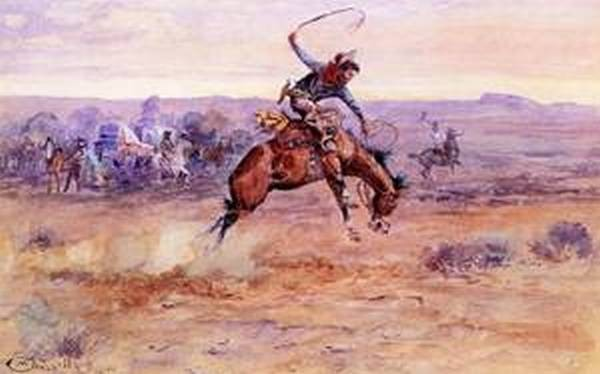 Bucking Bronco 1899